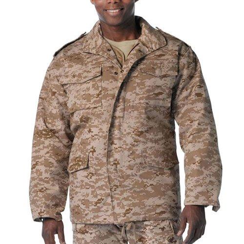 Ultra Force Mens M-65 Camo Field Jacket