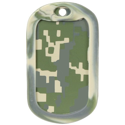 Ultra Force Dog Tag Silencers - Army Digital Camo