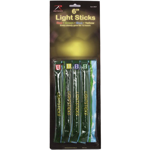 Ultra Force 4-Pack 6 Inch Chemicals Lightsticks