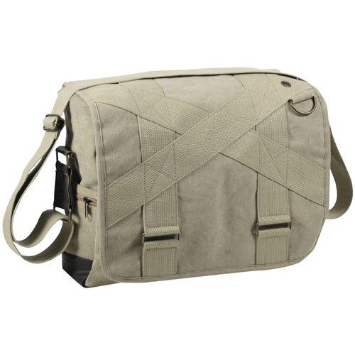 Vintage Canvas Outback Messenger Bag