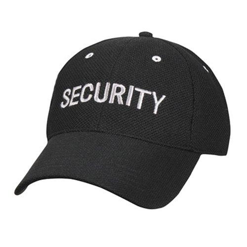 Mesh Low Profile Poly Cotton Security Cap