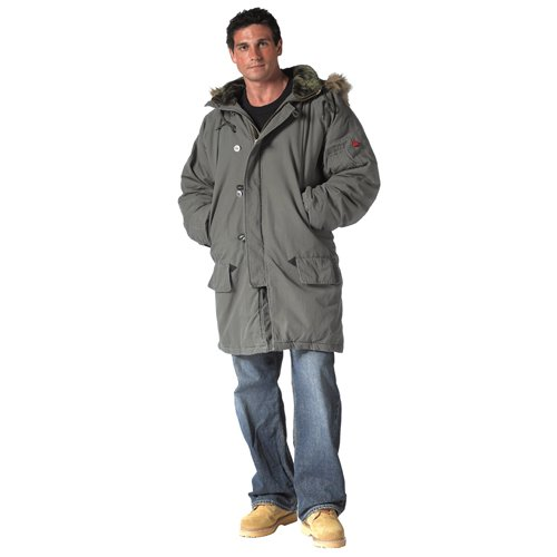 Ultra Force Olive Drab Vintage N-3b Parka
