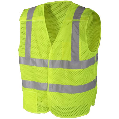 Ultra Force Safety 5-Point Breakaway Vest - Green