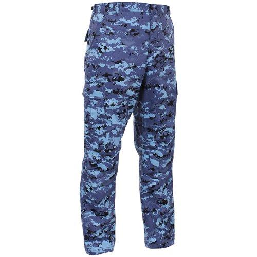 Ultra Force Tactical BDU Pants - Sky Blue Digital Camo