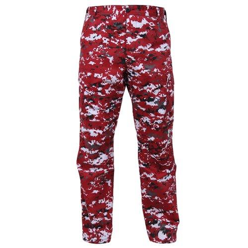 Ultra Force BDU Pants - Red Digital Camo