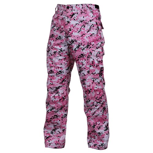 Ultra Force BDU Pants - Pink Digital Camo