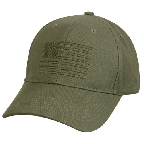 U.S. Flag Low Profile Cap
