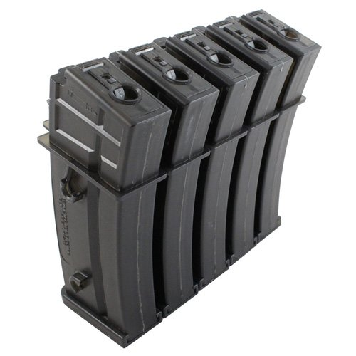 H&K G36 AEG Airsoft Magazine - 470rd (5 Pack)