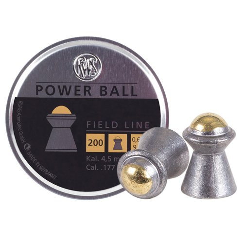 RWS Power Ball .177 9.4gr Pellets 200ct