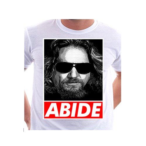 ABIDE White Custom T-Shirt