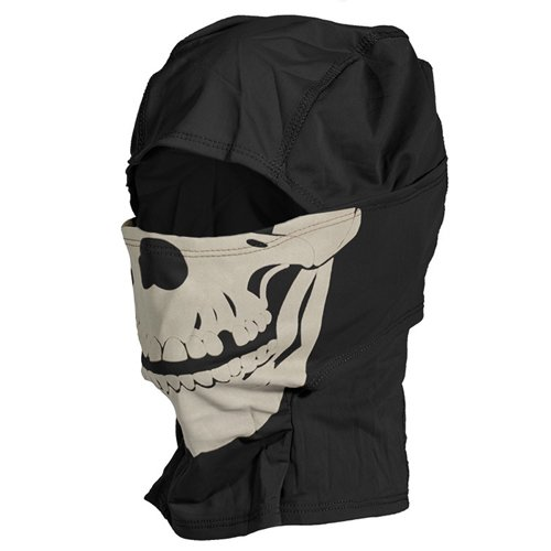 Glow in the Dark Tactical Skull Balaclava