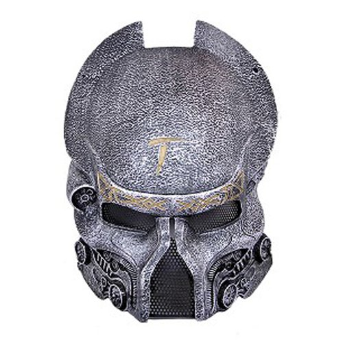 Fiberglass Metal Mesh Predator Wolf Mask