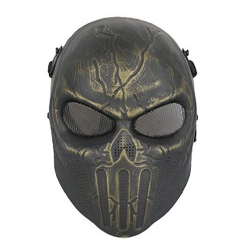 Punisher Airsfot Mask - Antique Brass Finish
