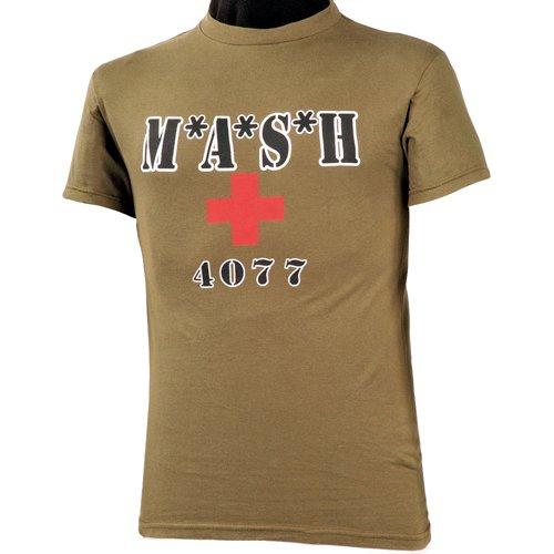 World Famous Mash T-Shirt Olive