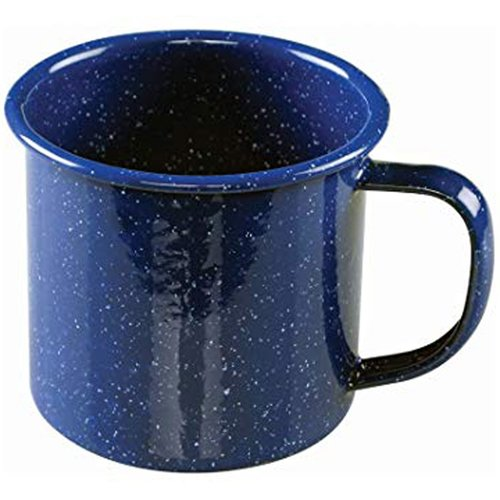 Enamel Soup Mug - 4 Inch