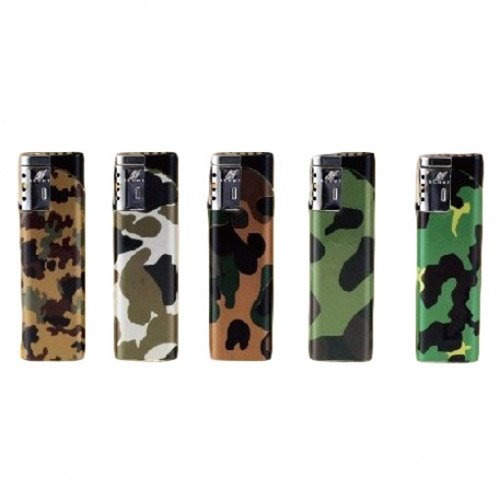 Duco Windproof Camo Torch Lighter