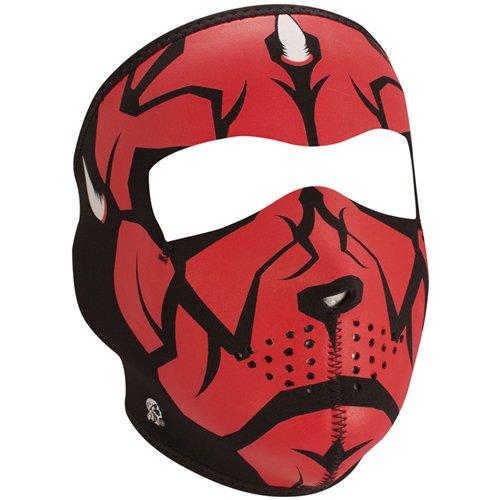 Full Mask Neoprene Glow In The Dark Darklord