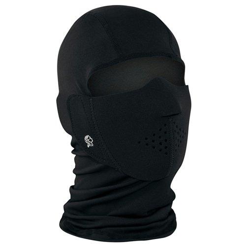 Neoprene BL Modi-Face with Detachable Full Face Mask - Black