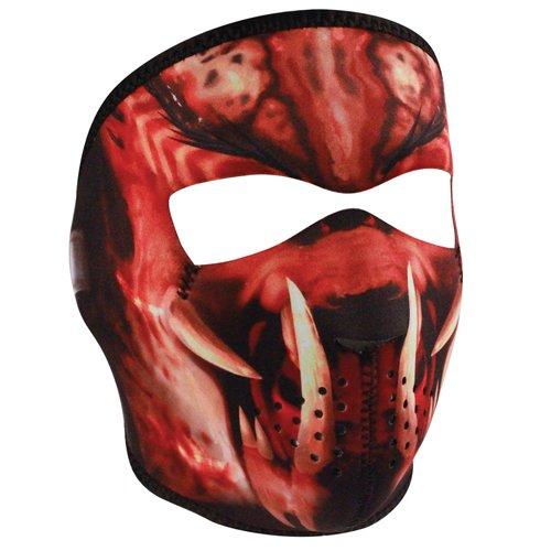 Zan Headgear Neoprene Slayer Masked Reverses to Unmasked Full Face Mask