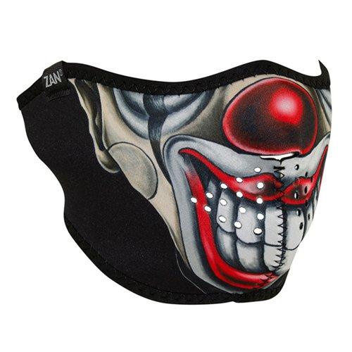 Neoprene Chicano Clown Face Mask - Half