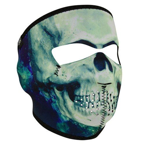 Neoprene Paint Skull Face Mask - Full