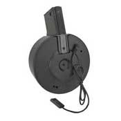 A&K  Auto Winding & Airsoft AEG Sound Control Drum Magazine
