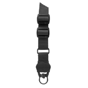 Steel Clips 2 Point Sleeve Sling  - Black