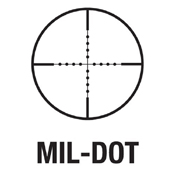 3-9x40mm Tactical Series Rifle Scope