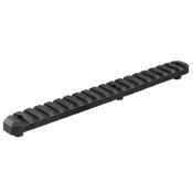 Picatinny Black Anodized Keymod Rail