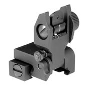 AR Low Profile Automatically Locks Flip Up Sight