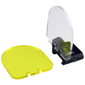 Yellow and Clear Lens Protector with Acrylic Shields