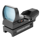 1x34mm Dual-Illuminated Reticle Sight - Red & Green