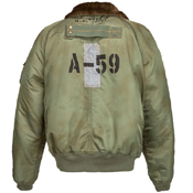 Alpha Mens B-15 55Th Anniversary Flight Jacket