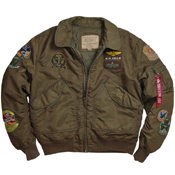 Alpha Mens CWU Pilot Jacket