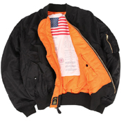 Alpha Mens Ma-1 Blood Chit Jacket