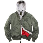Alpha Mens MA-1 D-TEC Jacket