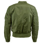Alpha Mens MA-1 Slim Fit Flight Jacket