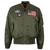 Alpha MA-1 Flex Core Fit Flight Jacket