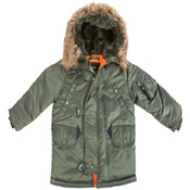 Alpha Youth N-3B Jacket