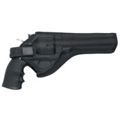 ASG DW Revolver  6 Inch - 8 Inch Black Belt Holster