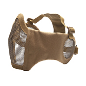 ASG Metal Mesh Mask with Cheek and Ear Protection