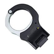 ASP 1 Pawl Yellow Folding Steel Bow Rigid Handcuff - Black