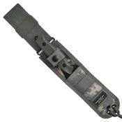 Benchmade Nimravus Tanto 4.5 Inch Combo Fixed Blade Knife
