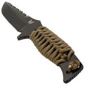 Benchmade Adamas 375 Drop-Point Blade Fixed Knife