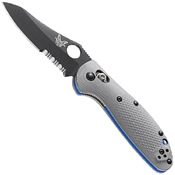 Benchmade Mini Griptilian 555-1 Sheepsfoot Blade Folding Knife