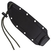 ESEE-6 Tactical Black Fixed Blade Knife with Sheath