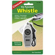 Coghlans 0466 Six Function Whistle