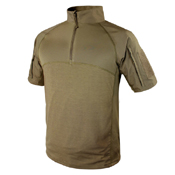 Condor Short Sleeve Combat Shirt 1/4 Zip