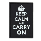 Condor Keep-Calm Carry-On Moral Patch