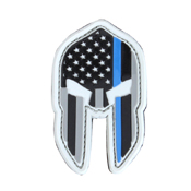 Condor Spartan Helmet Patches - Thin Blue Line